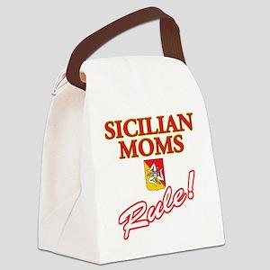 Sicilian Moms Rule Canvas Lunch Bag