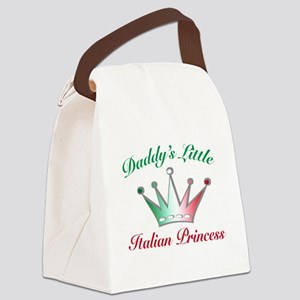 mommy little princessess Canvas Lunch Bag