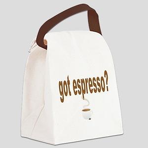 itt aint sauce(blk) Canvas Lunch Bag