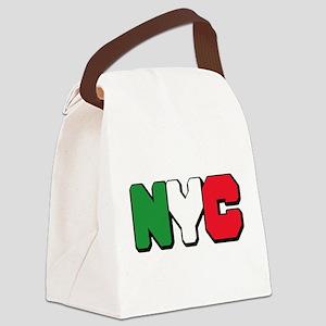 New York Italian pride Canvas Lunch Bag