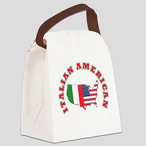 italian american Canvas Lunch Bag