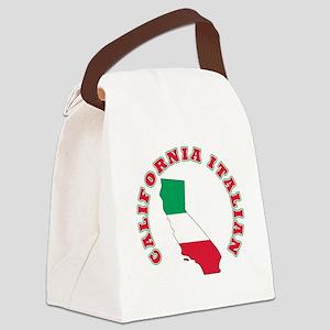 CALIFORNIA ITALIAN Canvas Lunch Bag