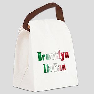 Brooklyn Italian.white Canvas Lunch Bag