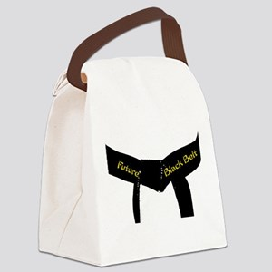 Martial Arts Future Black Belt Canvas Lunch Bag