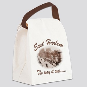 the way it was(blk) Canvas Lunch Bag