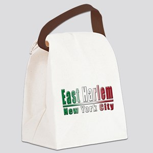 3-Italian East Harlem(blk) Canvas Lunch Bag