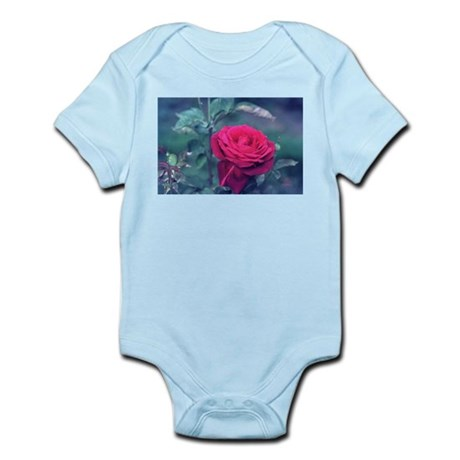 Royal Red Rose Infant Creeper