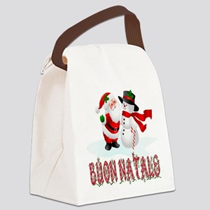 buon natale bb Canvas Lunch Bag