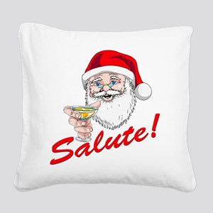italian coffe mug Square Canvas Pillow