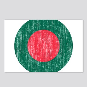 Bangladesh Roundel Postcards (Package of 8)