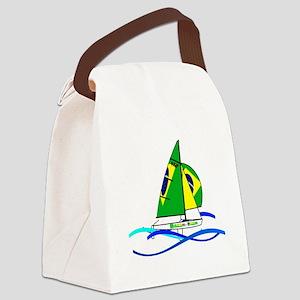 Brazil 470 Class Sailing Canvas Lunch Bag