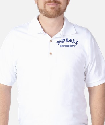Pinball University Golf Shirt