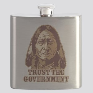 Trust Government Sitting Bull Flask