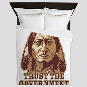 Trust Government Sitting Bull Queen Duvet