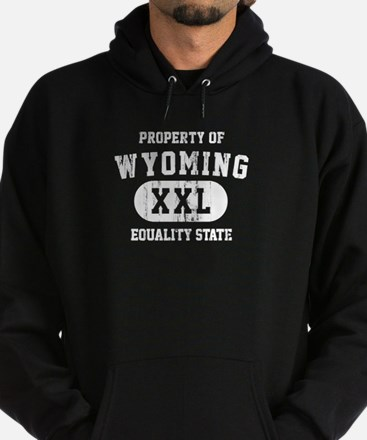 Property of Wyoming the Equality State Hoodie