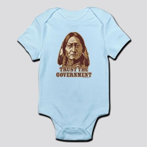 Trust Government Sitting Bull Infant Bodysuit