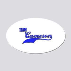 Team Cameron 20x12 Oval Wall Decal