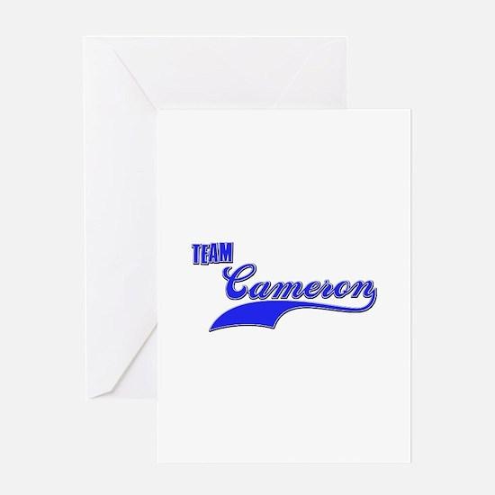 Team Cameron Greeting Card