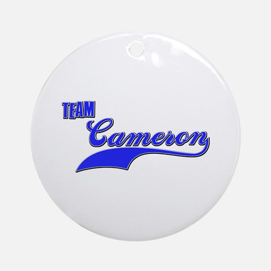 Team Cameron Ornament (Round)