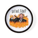 Got hell, Fidel? Wall Clock