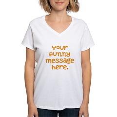 four line funny message Shirt