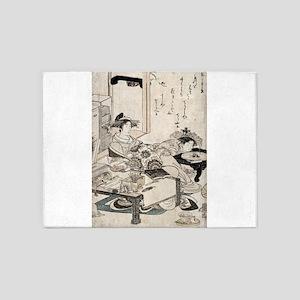 The courtesan Chozan of Choji-ya - Kyoden Santo -