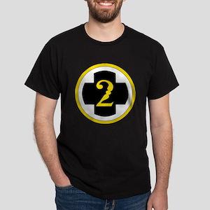 USA 2nd Medical Brigade Dark T-Shirt