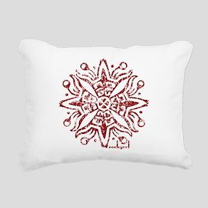 redsolosymbol Rectangular Canvas Pillow