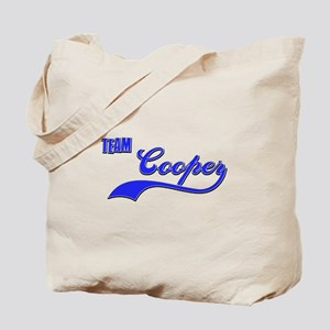 Team Cooper Tote Bag