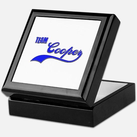 Team Cooper Keepsake Box