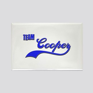 Team Cooper Rectangle Magnet