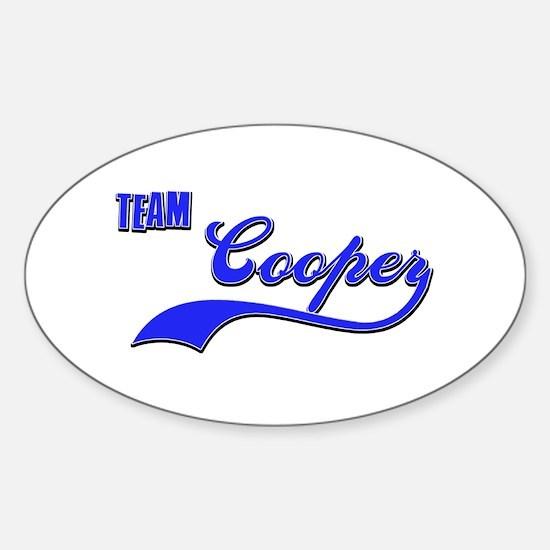 Team Cooper Sticker (Oval)