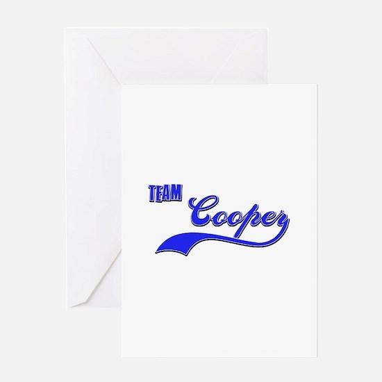 Team Cooper Greeting Card