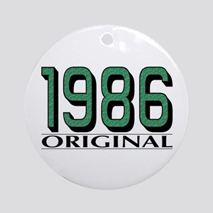 1986 Original Ornament (Round)