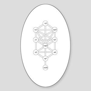 Tree of Life Oval Sticker