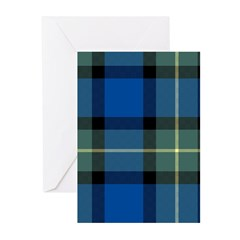 Tartan - Sinclair of Ulbster Greeting Cards (Pk of