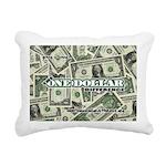 Rectangular Canvas Pillow (white) 1
