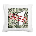 Square Canvas Pillow (white) 4