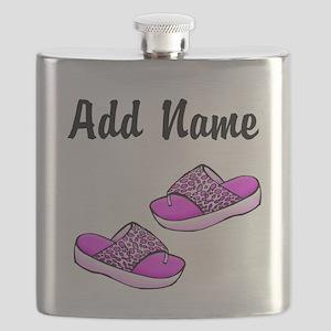 I LOVE THE BEACH Flask