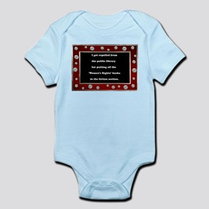 Expelled from the Library Infant Bodysuit