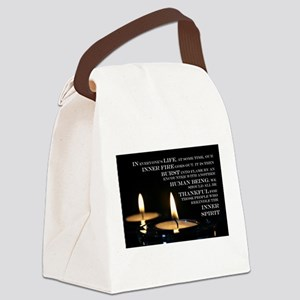 Inner Flame Canvas Lunch Bag