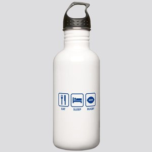 Eat Sleep Rugby Stainless Water Bottle 1.0L
