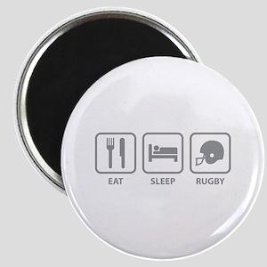 Eat Sleep Rugby Magnet