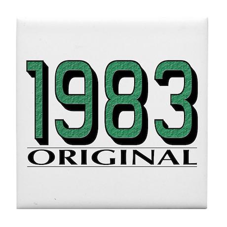 1983 Original Tile Coaster