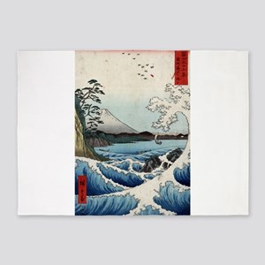 The sea at Satta in Suruga Province - Hiroshige An