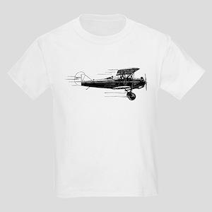 Retro Airplane Kids T-Shirt
