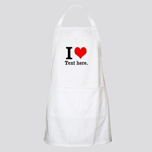 What do you love? Apron