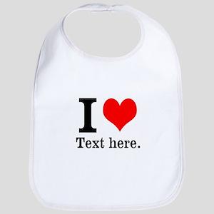 What do you love? Bib