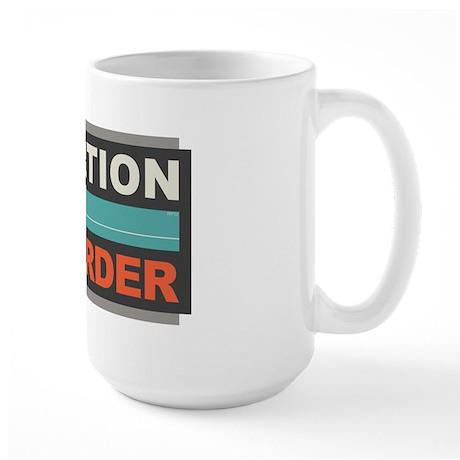 Abortion Is Murder Large Mug