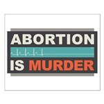 Abortion Is Murder Small Poster